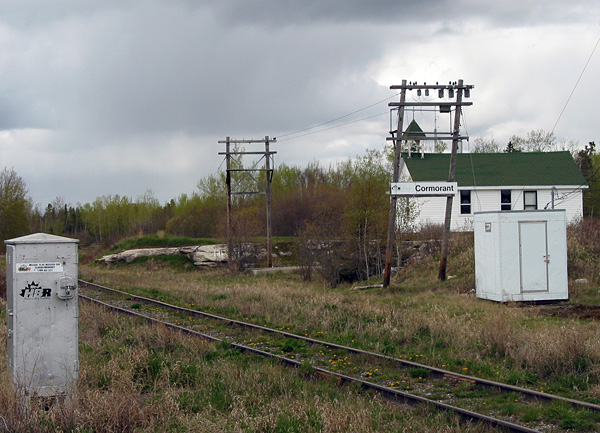 The famed Hudson Bay Railway passes through Cormorant.