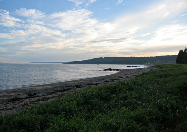 Beach near The Anchorage, Grand Manan Island, New Brunswick