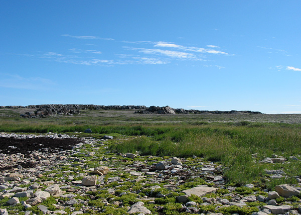 Shore near Halfway Point, Churchill area, Manitoba