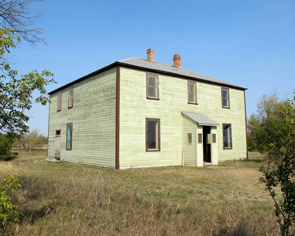 "This is the second Criddle homestead named ""St. Albans""; dates from"