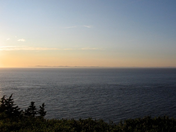 View from The Whistle, Grand Manan Island
