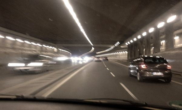 A road tunnel in Munich