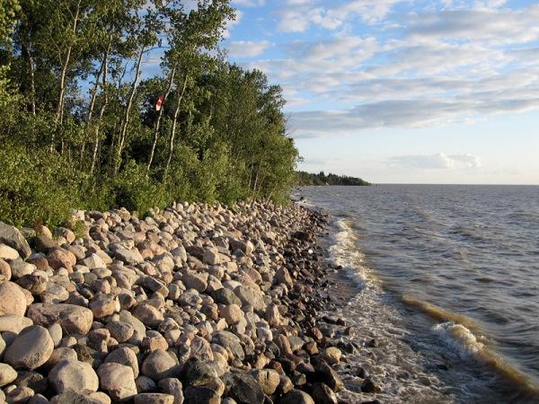 cobble shore