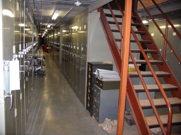 Paleontological collections storage at the Field Museum